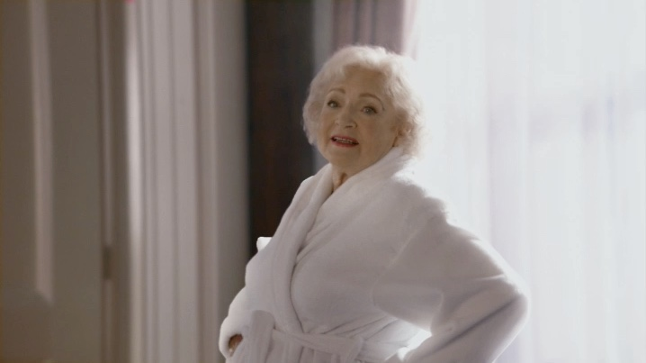 Betty White Upstages Christina Aguilera In Peter Berg Directed Super Bowl Spot