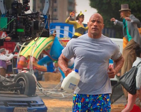 Peter Berg Directs Super Bowl Spot For Milk With Dwayne 'The Rock' Johnson