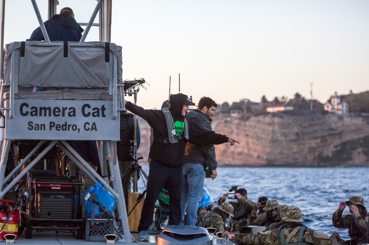 "Peter Berg Directs U.S. Army Spot ""Amphibious Assault"""