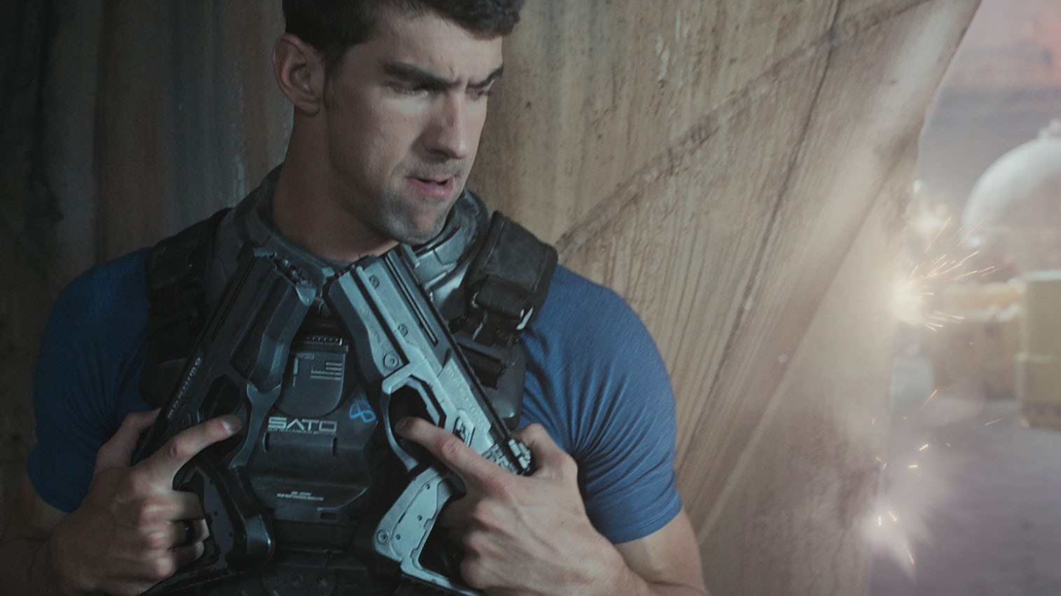 Peter Berg Directs Michael Phelps In New COD Spot