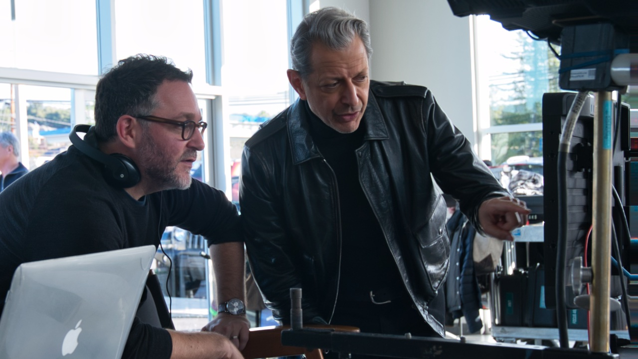 Colin Trevorrow And Jeff Goldblum Revisit Jurassic Park Chase Scene For Jeep