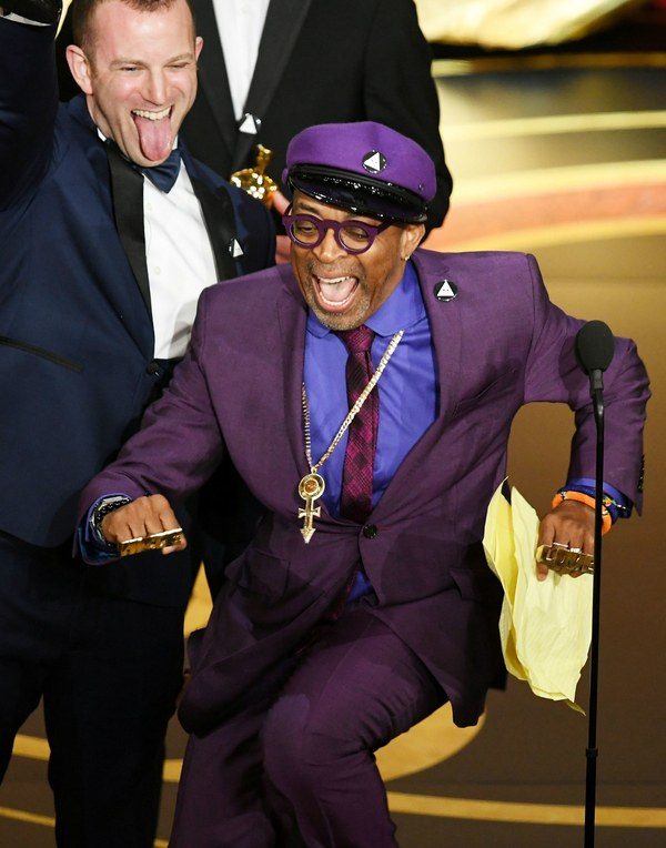 Spike Lee Wins Oscar For Best Adapted Screenplay For BlacKkKlansman!